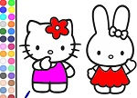 Hello Kitty Coloring 2