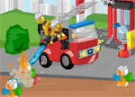 Lego Firetrack