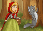 Little Red Riding Hood Puzzle Story