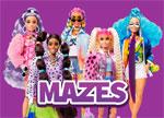 Barbie Doll Maze