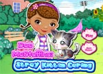 Doc McStuffins Games Stray Kitten Caring