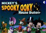 Mickey Mouse Spooky Ooky House Builder
