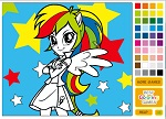 Equestria Girls Coloring