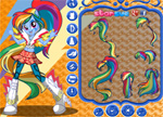 Rainbow Dash Dress Up