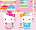 Hello Kitty Dress Up Mini Game