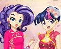 Equestria Girls as Anime