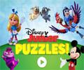 Junior Video Puzzles Disney Game