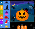 Make a Pumpkin Halloween Game