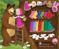 Masha and Bear Dress Up Game