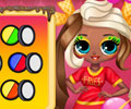Popsy Delicious Fashion Dress Up Game