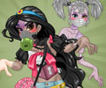 Princess Cute Zombies Dress Up