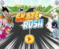 Skate Rush Cartoon Network Game