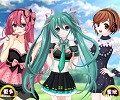 Dress Up Games :: Vocaloid Team Dress Up