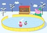 Peppa Ice Skating