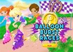 Polly Pocket Balloon Burst Races