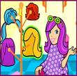 Polly Pocket Hair Stylin Salon