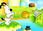 Snoopy Basketball