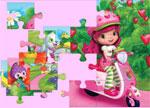 Strawberry Shortcake Riding Jigsaw