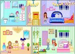 fairy house decoration games - House Decorating Games