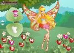 Winx Stella Strawberry Dress Up